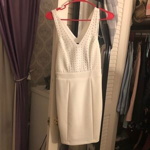 GUESS white cocktail dress